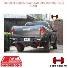 HAMER M-SERIES REAR BAR FITS TOYOTA HILUX REVO